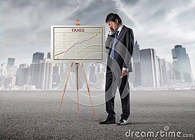 Hohe Steuern