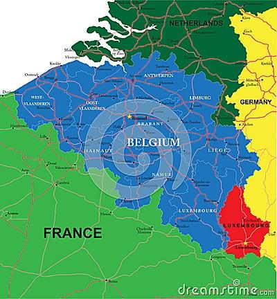 belgien karte lizenzfreies stockfoto bild 29914885. Black Bedroom Furniture Sets. Home Design Ideas