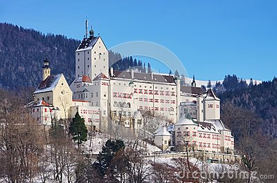 Hohenaschau castle