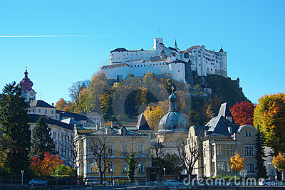 Hohensalzburg Castle Royalty Free Stock Photos - Image: 18277638
