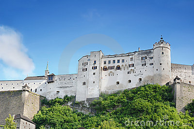 Hohensalzburg Castle from Salzburg, Austria