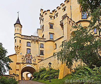 Hohenschwangau Castle, palace in southern Germany