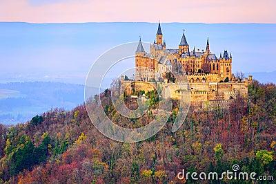 Hohenzollern castle, Stuttgart, Germany Stock Photo