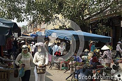 HOI AN - Central Market Editorial Photo