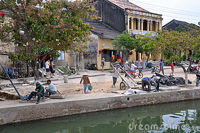 Hoi An Renovations, Vietnam Editorial Photo