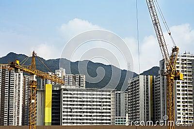 Hoist and building