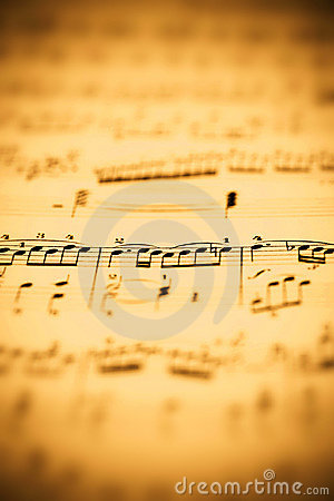 Hoja de música