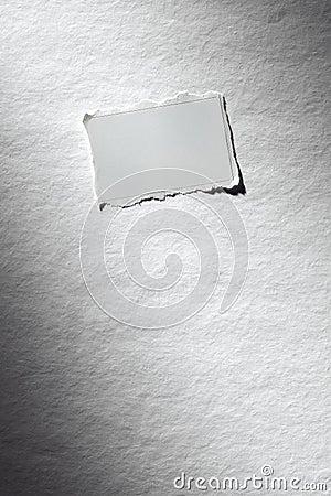 Hoja del papel