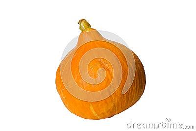 Hokkaido pumpkin isolated