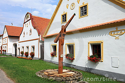 Holasovice - UNESCO village Folk Baroque