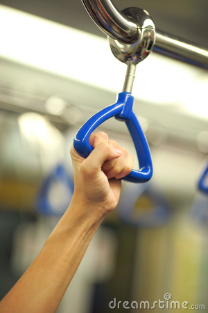 Free Hold The Handrail Stock Photography - 16738572