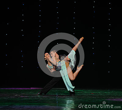 Free Hold You In My Arms-The Magic Of Love-Flamingo Dance-the Austria S World Dance Royalty Free Stock Image - 49193216