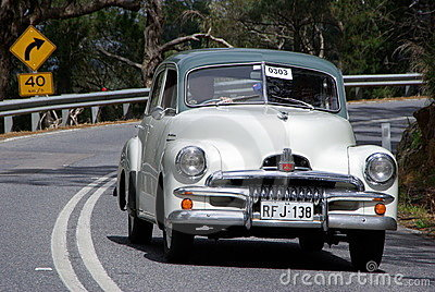Holden FJ Special Sedan Editorial Stock Photo
