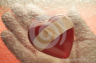 Holding A Broken Heart