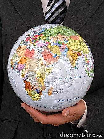 Free Holding Globe Royalty Free Stock Photos - 237328