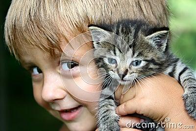 Holding my kitty