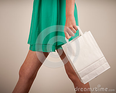 Holding paper bags