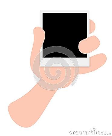 Holding photo