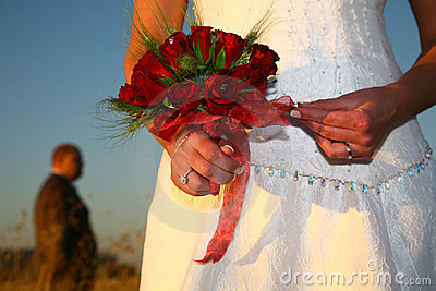 Holding Ribbon
