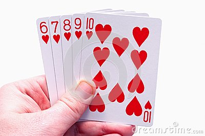 Holding straight flush