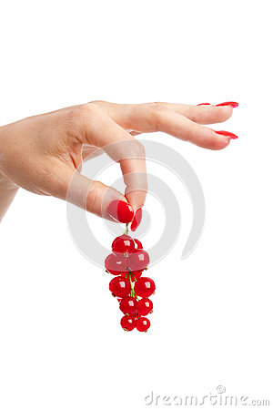 Free Holding The Currants Royalty Free Stock Photo - 9975295
