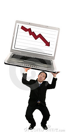 Holding Up Laptop With Stock C