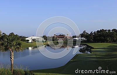 Hole 18, TPC Sawgrass golf, Ponte Vedra, FL
