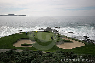 Hole 7 in Pebble Beach