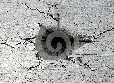 Hole In The Cracked Ground