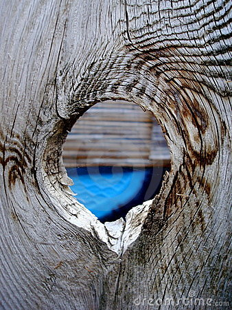Hole in the fence