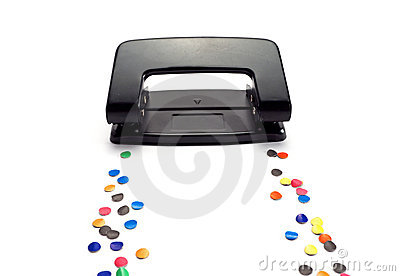 Hole puncher.
