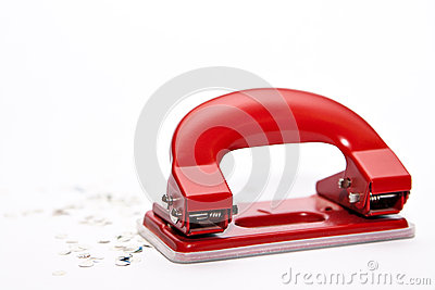 Hole puncher and confetti