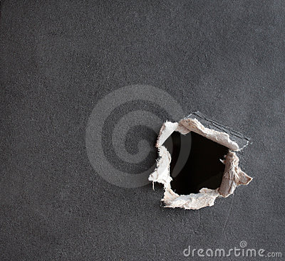 Free Hole With The Fragmentary Edges Stock Photography - 5428032