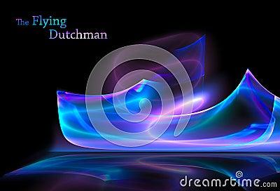 Holenderski latający fikcyjny statek
