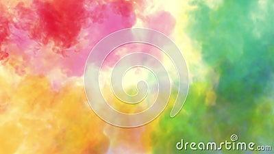 holi节日的颜色