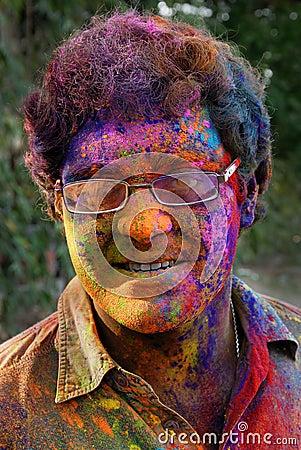 Holi Festival Editorial Image