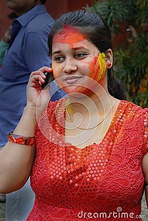 Holi Festival of Colours Editorial Image