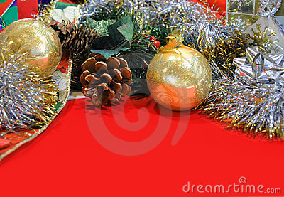 Holiday Background Header with Copyspace