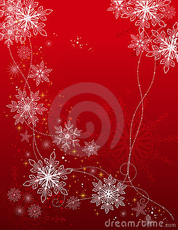 Free Holiday Background With Snowflakes Stock Photo - 16890260