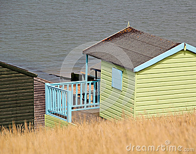 Holiday beach hut