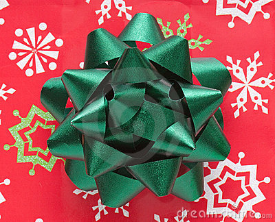 Holiday Bow Closeup