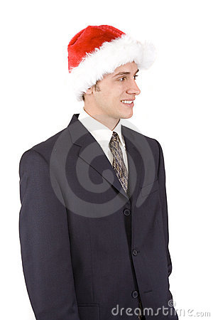 Holiday Businessman
