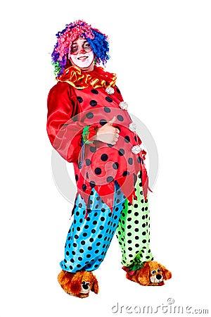 Holiday clown