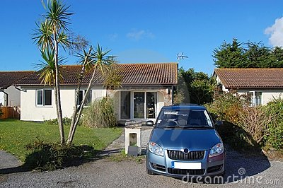 Holiday Cottage Stock Image - Image: 21073881