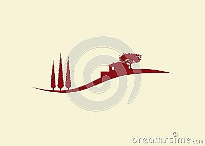 Holiday cottage logo