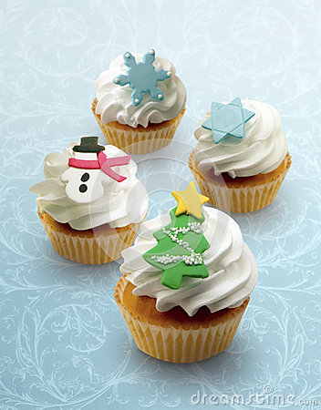 Holiday cupcakes!
