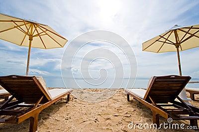 Holiday destination beach