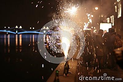 Holiday firework
