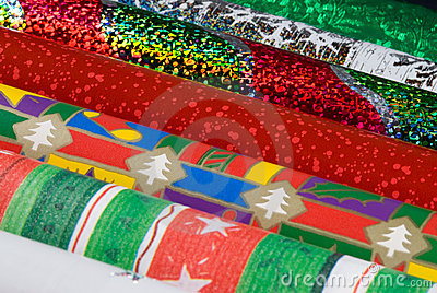 Holiday Gift Wrap Papers