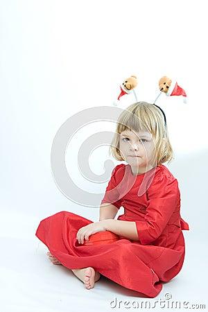 Holiday girl